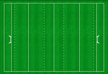 terrain rugby taille