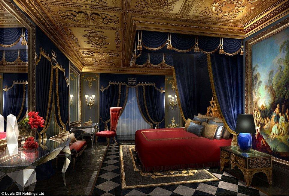 Combien co te l 39 h tel le plus cher du monde - La plus belle chambre du monde ...