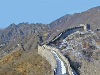 taille muraille chine
