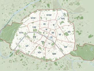 20 arrondissements paris