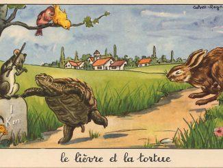 fable la fonfaine lievre tortue