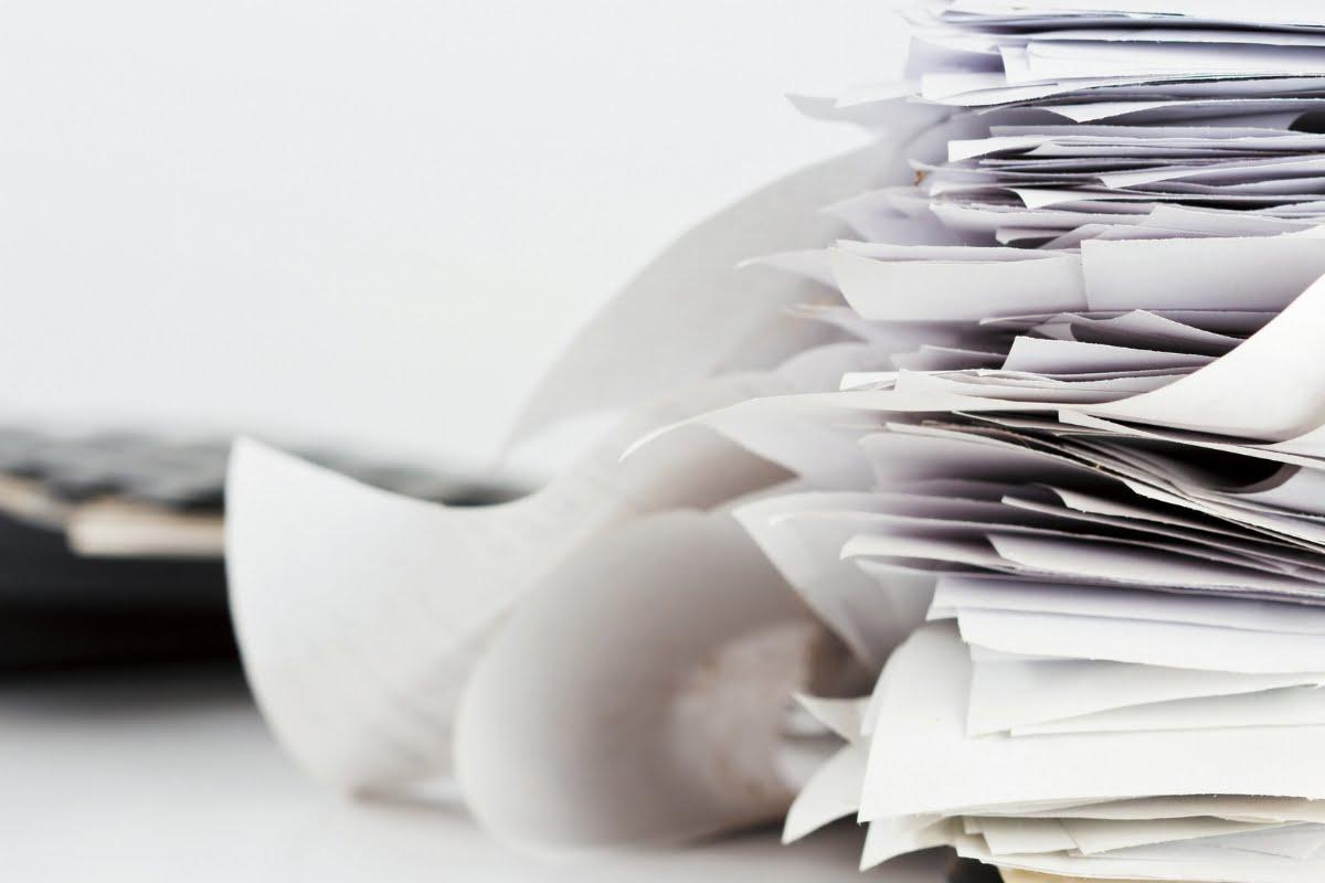 papiers banque temps conserver