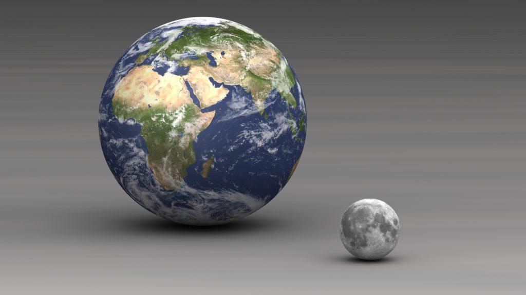 lune taille distance entre la terre et la lune dur e d 39 un trajet. Black Bedroom Furniture Sets. Home Design Ideas