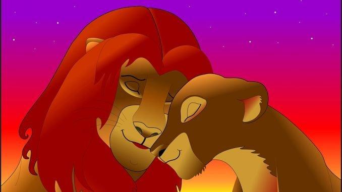 le roi lion walt disney