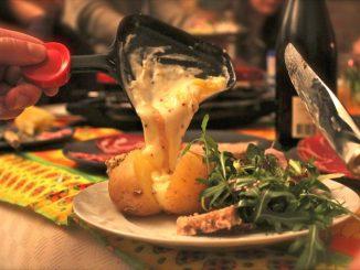 Raclette fromage quantité