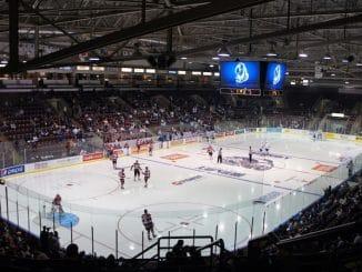 hockey sur glace terrain