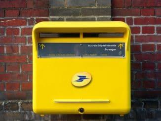 lettre poste