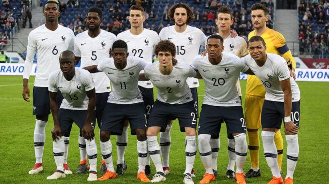 Equipe de France foot 2018
